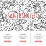 San Fransisco Vector Stock Photos