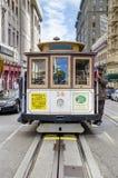 San Fransisco wagon kolei linowej Obraz Stock