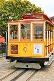 San Fransisco wagonu kolei linowej kolor żółty 15 Zdjęcie Stock