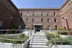 San Fransisco Zuckerberg szpital ogólny i urazu traktowania centrum, 2 zdjęcie royalty free
