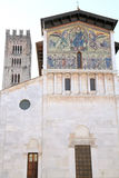 San Frediano basilica church Lucca Italy Royalty Free Stock Image