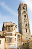 San Frediano basilica, Lucca, Italy Stock Images