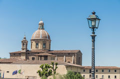 San Frediano in Cestello church in Florence, Italy. Royalty Free Stock Photos