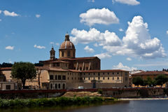 San Frediano in Cestello church Florence, Italy royalty free stock images
