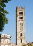 The San Frediano church tower in Lucca Royalty Free Stock Photography