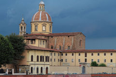 San Frediano church under the storm Stock Photos