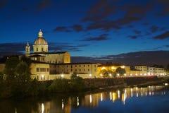San Frediano i den Cestello kyrkan Arkivfoton