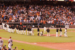 San frnacisco Giants celebrati Stock Photo