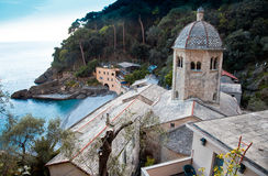 San Fruttuoso Abbey Stock Images