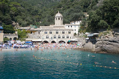 San Fruttuoso Abbey, Italy Royalty Free Stock Photography
