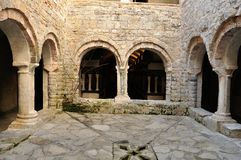 San Fruttuoso abbey 2 Royalty Free Stock Image