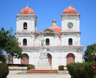 San Fulgencio's Church at Gibara, Cuba. Royalty Free Stock Photography