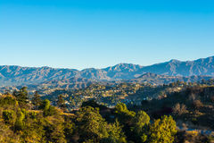 San Gabriel Mountains 2 arkivbild