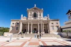San Gabriele dell'Addolorata i Abruzzo, Italien Royaltyfri Bild