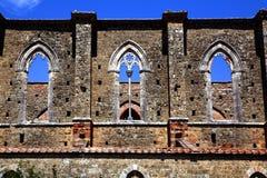 San galgano Royalty Free Stock Photos