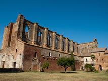 San Galgano Photographie stock