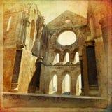 San Galgano Imágenes de archivo libres de regalías