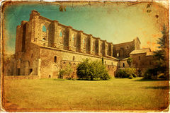 San Galgano Imagen de archivo