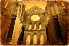 San Galgano Fotografía de archivo