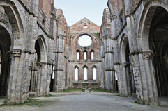 San Galgano Abbey Royalty Free Stock Photo
