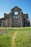 San Galgano Abbey Royalty Free Stock Photography