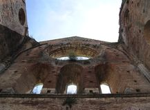 San Galgano abbey Royalty Free Stock Image