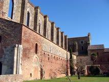 San Galgano Abbey Arkivbild
