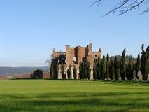 San Galgano Abbey Royaltyfria Foton