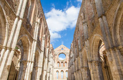 San Galgano Abbey Stock Images