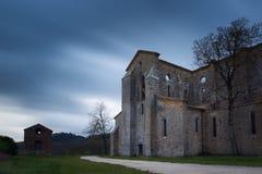 San Galgano Abbey Royalty Free Stock Photos
