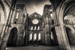 San Galgano abbey - HDR Royalty Free Stock Photos