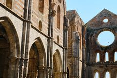 Free San Galgano Abbey Italy Stock Photography - 124611792