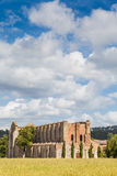 San Galgano Abbey Royalty Free Stock Images