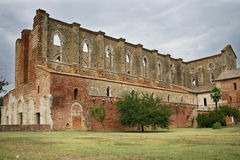 San Galgano Abbey Stock Image