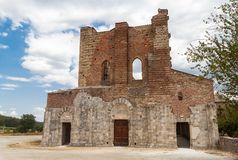 San Galgano Abbey Tuscany, Italy Royalty Free Stock Photography