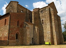San Galgano Abbey Tuscany, Italy Royalty Free Stock Photos