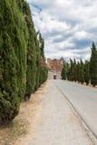 San Galgano Abbey Tuscany, Italy Stock Image