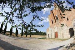 San Galgano Abbey, Tuscany, Italy Royalty Free Stock Image