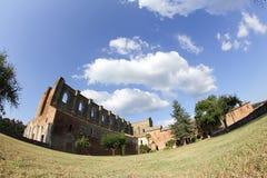 San Galgano Abbey, Tuscany, Italy Stock Photo