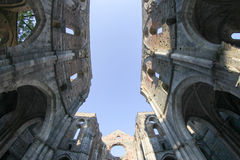 San Galgano Abbey, Tuscany, Italy Royalty Free Stock Photos
