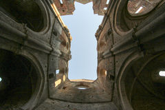 San Galgano Abbey, Tuscany, Italy Royalty Free Stock Photo
