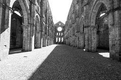 San Galgano church Royalty Free Stock Images