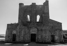 San Galgano church stock photography