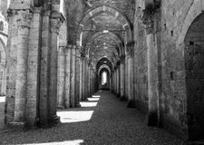 San Galgano church Royalty Free Stock Photos