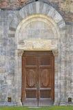 San Galgano: Die alte Abtei von San Galgano, ist ein mirable Beispiel der Romanesquearchitektur in Toskana Chiusdino, Siena, Ital stockbild