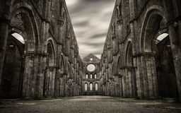 San Galgano HDR Royalty Free Stock Photo