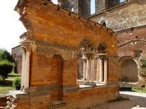 San Galgano, Italien Arkivbilder
