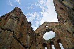 San Galgano - la Toscana Immagini Stock