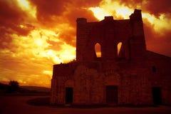 San Galgano - la Toscana Immagini Stock Libere da Diritti