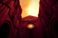 San Galgano - la Toscana Fotografia Stock